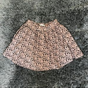 Animal Print High Waisted Skirt